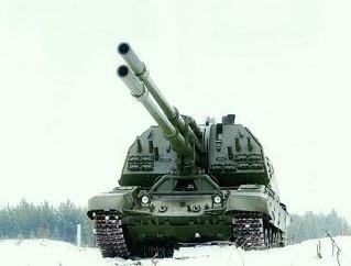 連装152ミリ自走砲Koalitsia-SV(コアリツィア-SV)