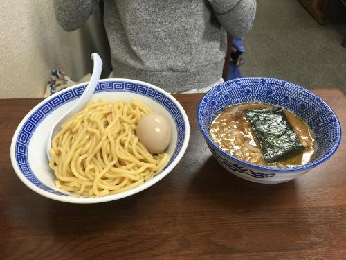 さなだ味玉つけ麺
