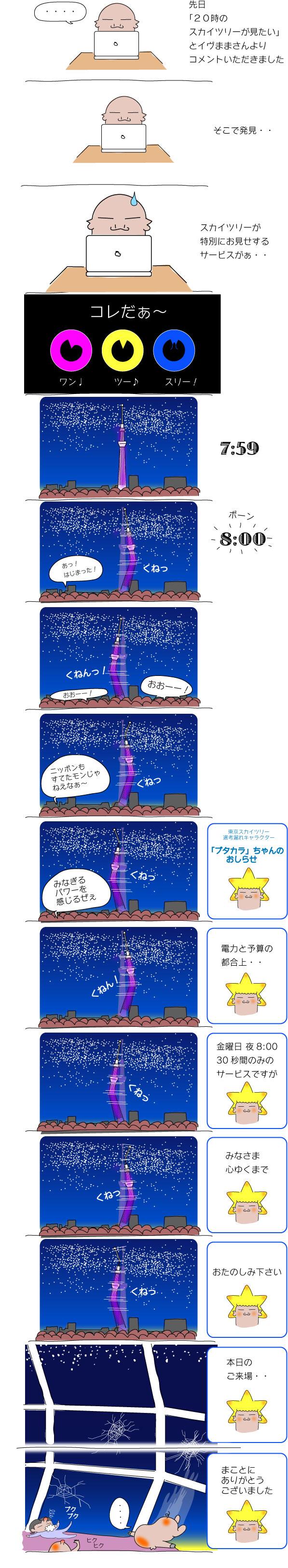 東京スカイツリー特別サービ