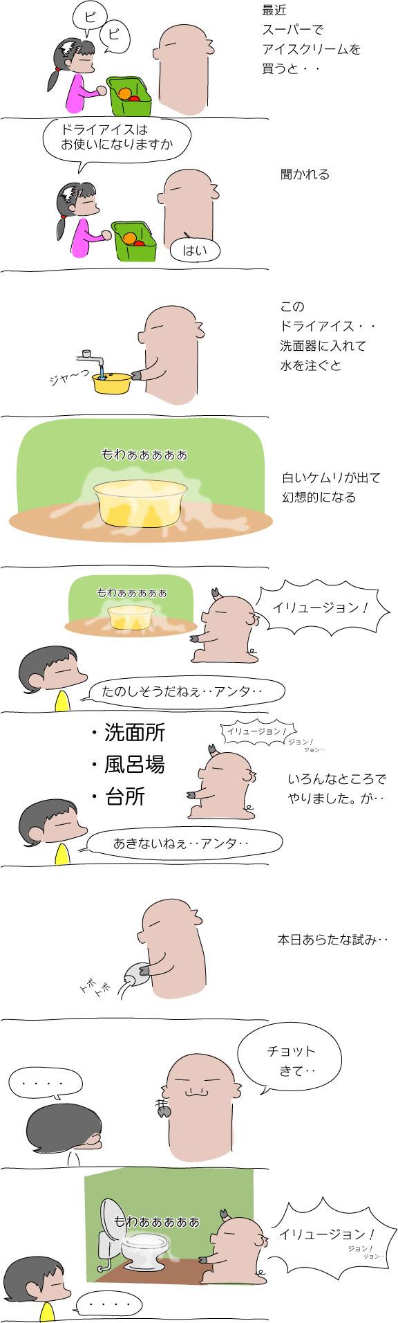 ドライアイス