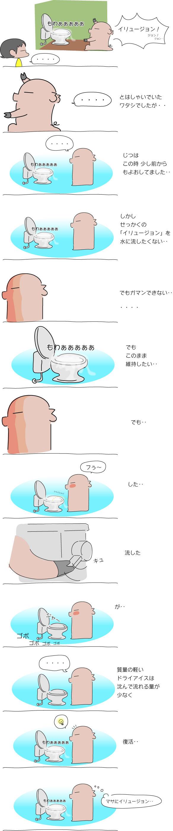 ドライアイス2