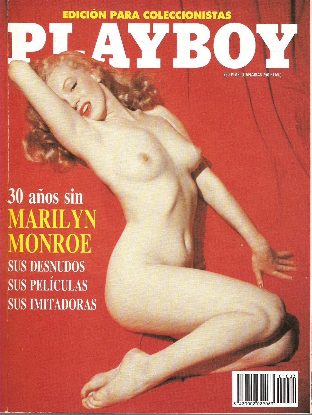 news article Playboys special edition Marilyn Monroes nude photos th anniversary death.