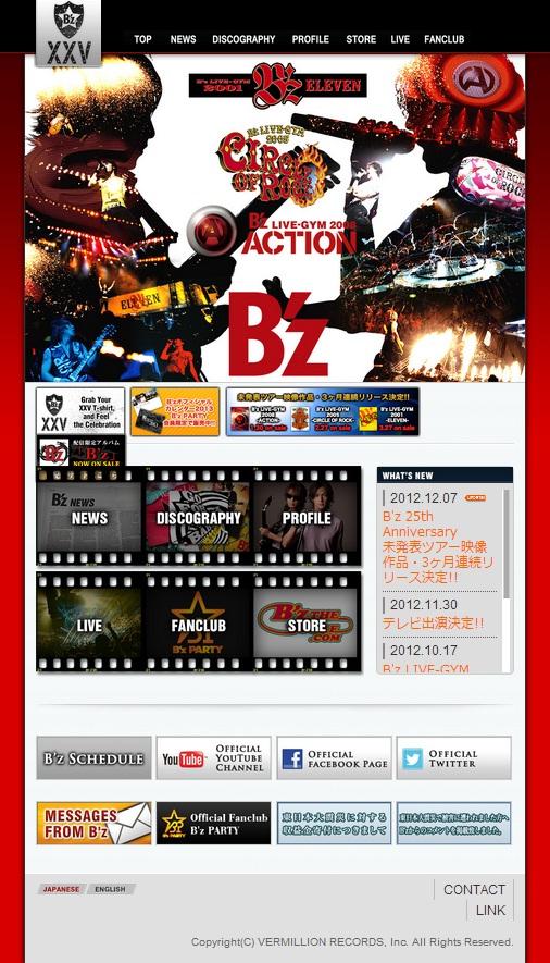 Bz official 2013 スクリーンビュー