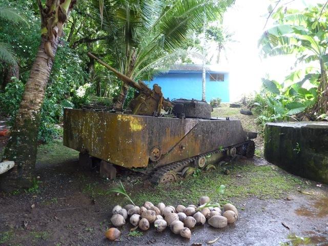 旧日本軍の戦車