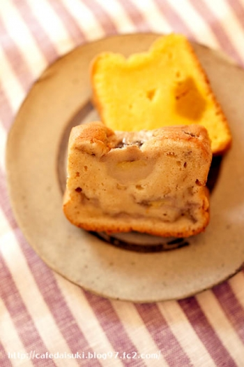 てづくりスコーン ぎんのふえ◇パウンドケーキ(バナナ&かぼちゃ)