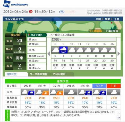 ニュー南総天気weather2