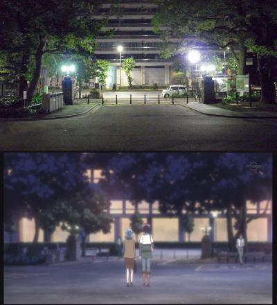 レジェンゴは夜の街へ