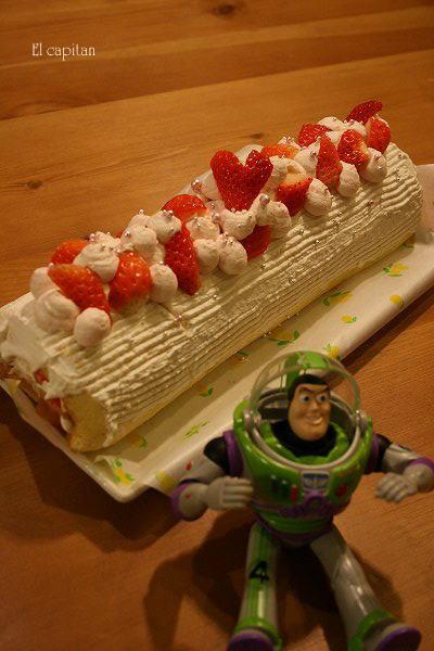 5歳のケーキ