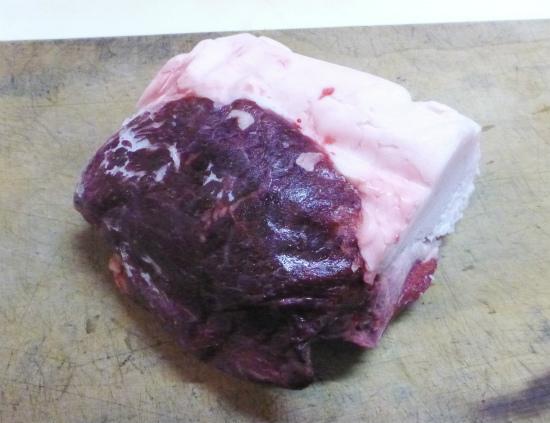 2012.12.07ヒグマ肉