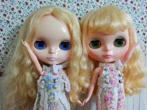 金髪くるくる姉妹