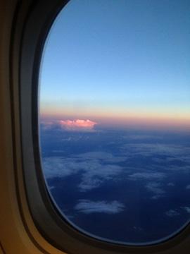 アルメニア上空の積乱雲