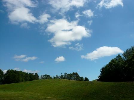 晴れた日の伏古公園
