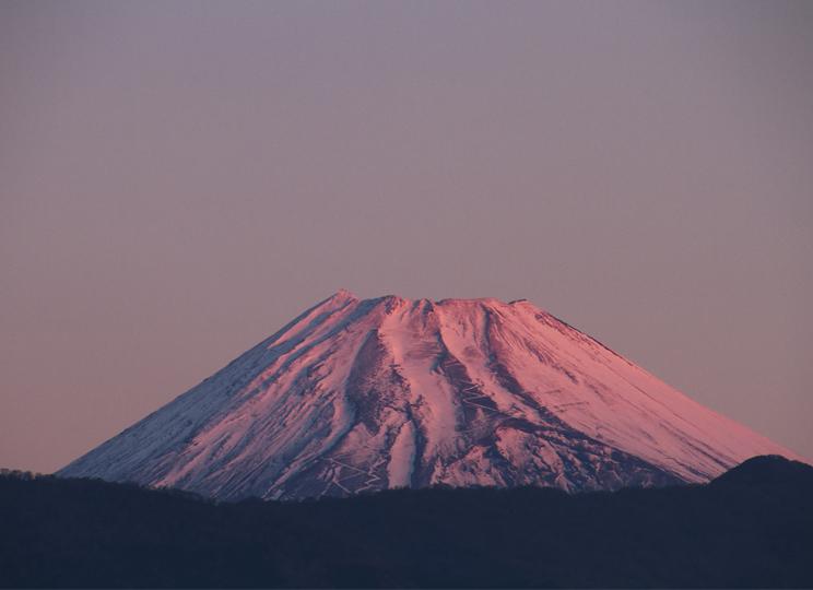 30日 6ー30 今朝の富士山