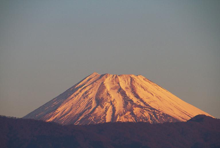 2日 6ー45 今朝の富士山-1