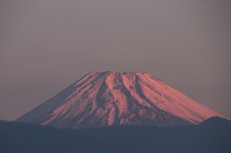 7日 6ー39 今朝の富士山