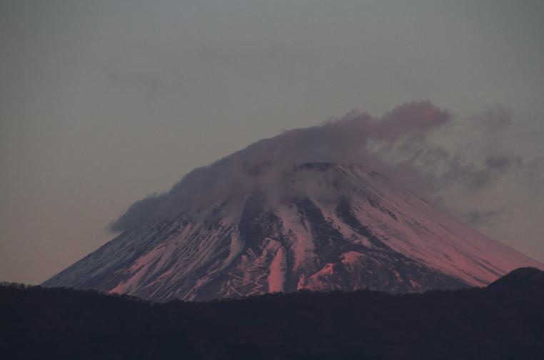 13日 6ー45 今朝の富士山