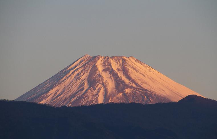 14日 6ー52 今朝の富士山-1