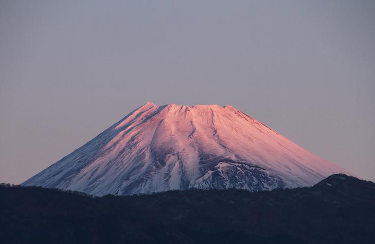 22日 6ー49 今朝の富士山-3