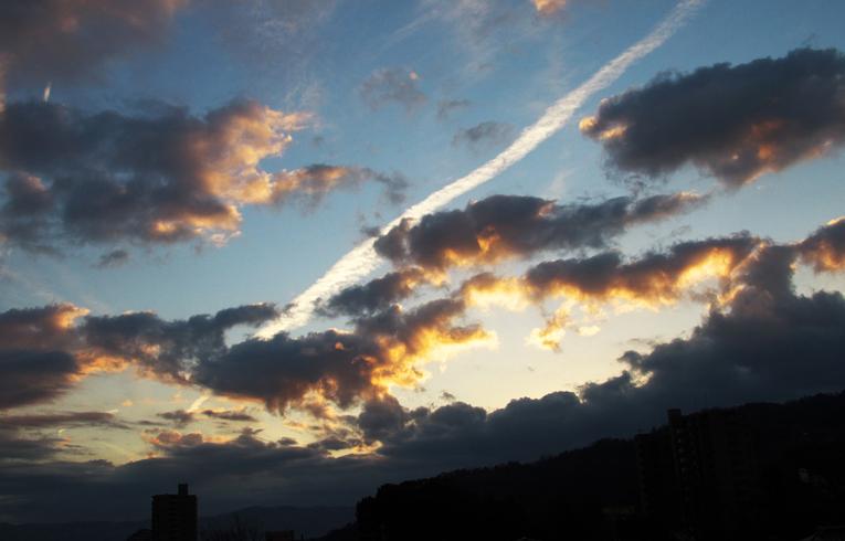 23日 7ー03 東の空-1