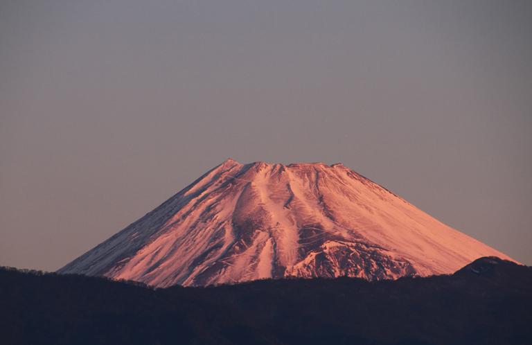 25日 6ー51 今朝の富士山-1