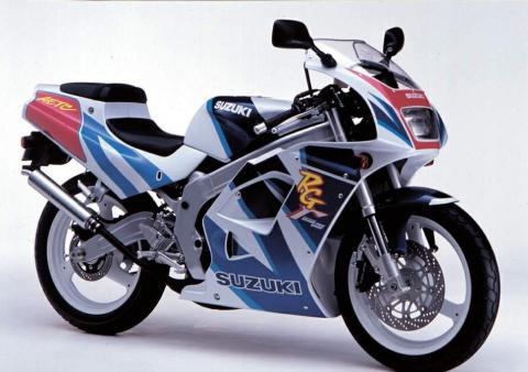 Suzuki RG 125 Gamma 91 1