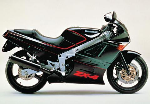 Kawasaki ZX-4 88