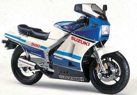 Suzuki RG500 3