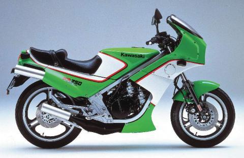 Kawasaki KR250 84 3
