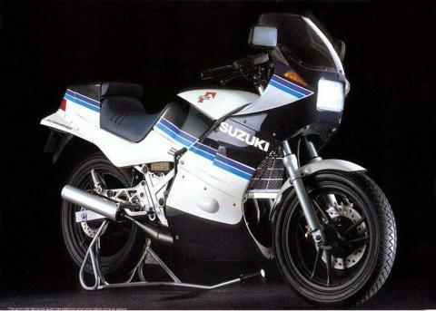 Suzuki RG250 83 3