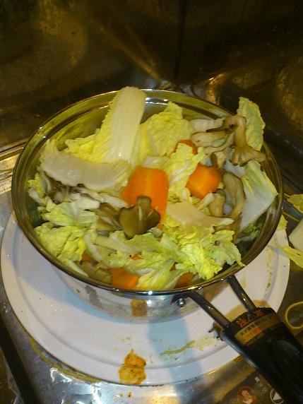 あふれる野菜