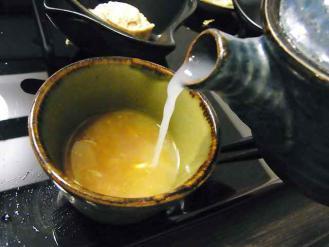 12-8-20 蕎麦湯
