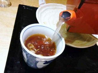 12-8-23 蕎麦湯