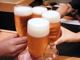 12-8-22 ビア乾杯