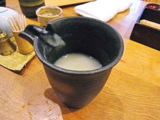12-9-13 蕎麦湯