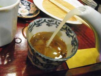 12-9-20 蕎麦湯