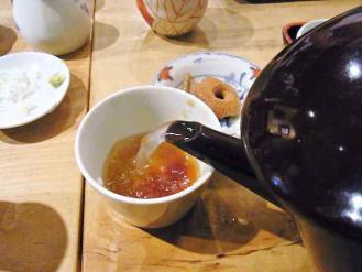 12-9-21 蕎麦湯