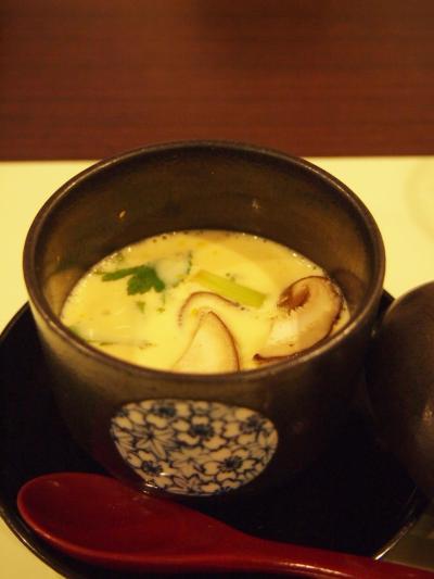 茶わん蒸し(わらび亭) (2)