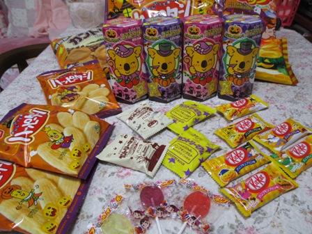 2014年ハロウィンお菓子
