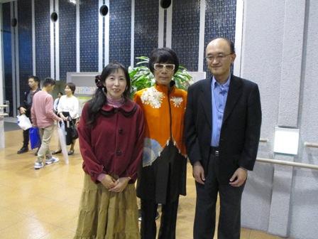 2014.11.1HIROSHIさんコンサート・終演後写真