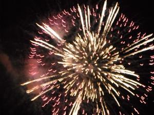 八木の花火