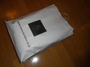 紙袋in布