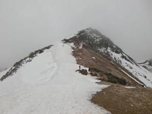 乗鞍山スキー120520a