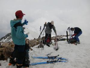 乗鞍山スキー120520b