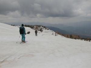 乗鞍山スキー120520d