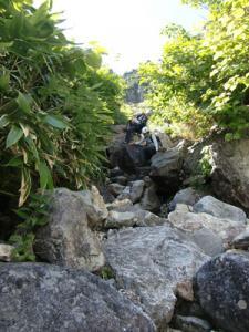 錫杖中央稜P2右岩壁左ルート5