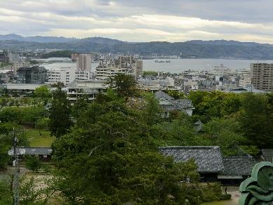 H24.04.29~05.02 城からの宍道湖