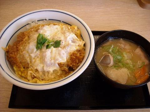 かつや・カツ丼(梅)