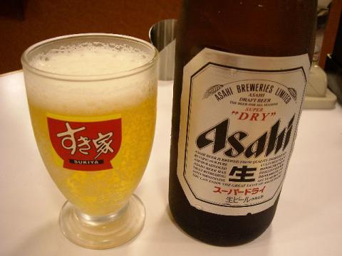 すき家・ビール