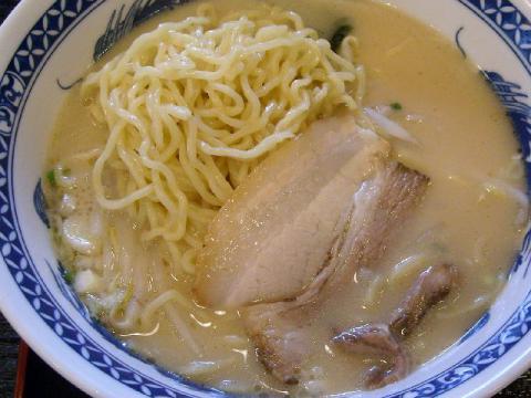 千滋百味・豚骨ラーメン 麺