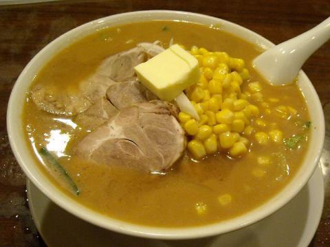 中華美食館三条店・コーン叉焼バターみそラーメン